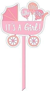 Amscan It's a girl Baby Girl Yard Sign