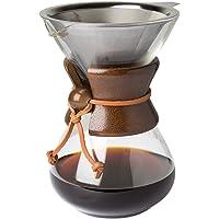 Pour Over Cafetera con borosilicato Grass Jarra Y