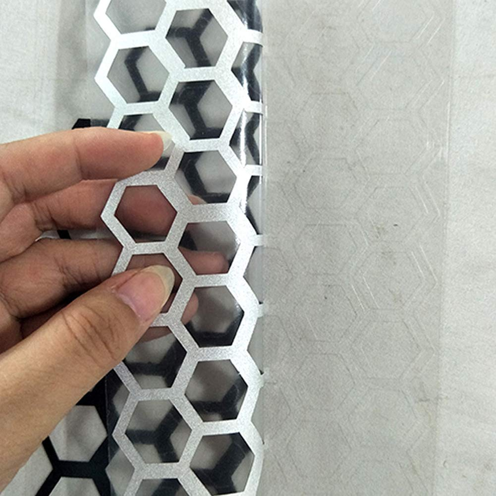 DishyKooker 6Pcs Set Adesivo a Nido dApe per fanale Posteriore fanale Posteriore in PVC