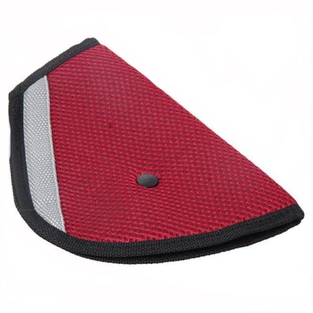 HS Seatbelt Adjuster Seat Belt Safety Covers Adult Children Seat Belt Clips 1PC (Red) 123983