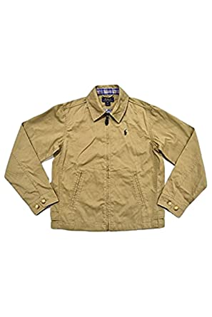 a2f2db478 Amazon.com: Polo Ralph Lauren Boys Classic Casual Jacket (Tan) (2/2T ...