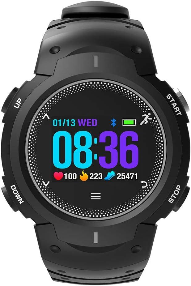 JINRU Reloj Inteligente GPS posicionamiento Global Monitor de frecuencia cardíaca Deportes podómetro monitoreo del sueño