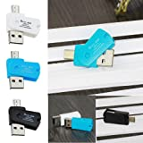 Android Phone,OTG Micro USB to USB 2.0 Micro SD TF