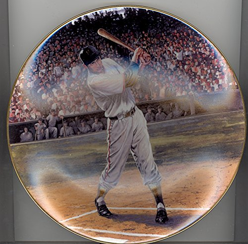 """Bobby Thomson 8"""" Collector Plate - Bobby Thomson: Shot He..."""