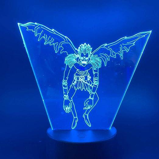 Lampe de bureau Japonais Manga Death Note Ryuk Figure Led