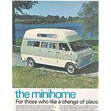 1968 1969 1970 ? Ford Econoline Van Minihome RV Motorhome Camper Brochure