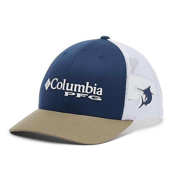 Columbia PFG Gorra de Bola de Malla con Cierre Trasero: Amazon.es ...