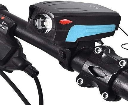 FYLY-USB Recargable Luz Bicicleta Delantera, 400 Lúmenes ...
