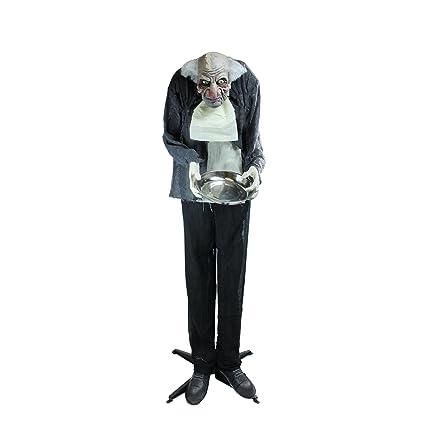 Amazon Com Northlight 5 5 Lighted Standing Butler Man
