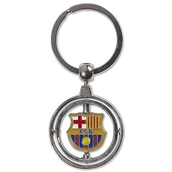 LLAVERO DOBLE GIRO FC.BARCELONA
