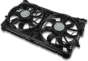 GM3115211 OE Style Radiator Cooling Fan Assembly for Chevy Silverado GMC Sierra Cadillac Escalade 07-13