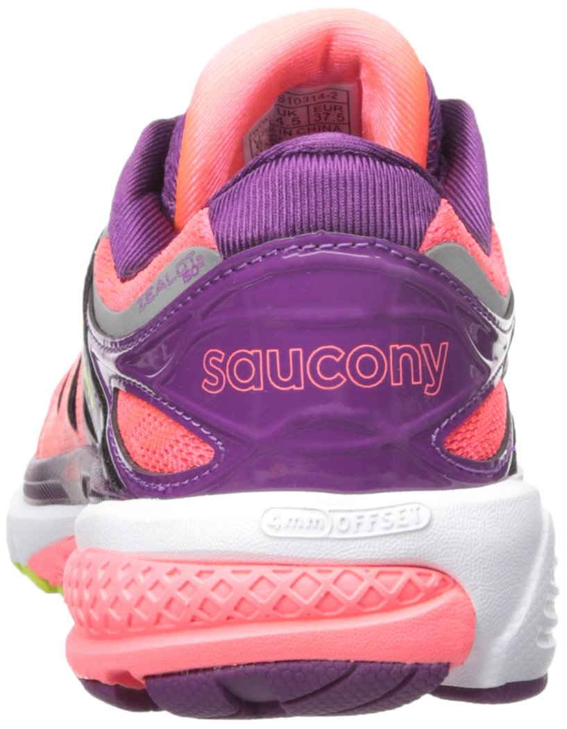 Saucony Shoe Women's Zealot Iso 2 Running Shoe Saucony B018EYTKFY 9.5 B(M) US|Coral/Purple/Cotton e72edf