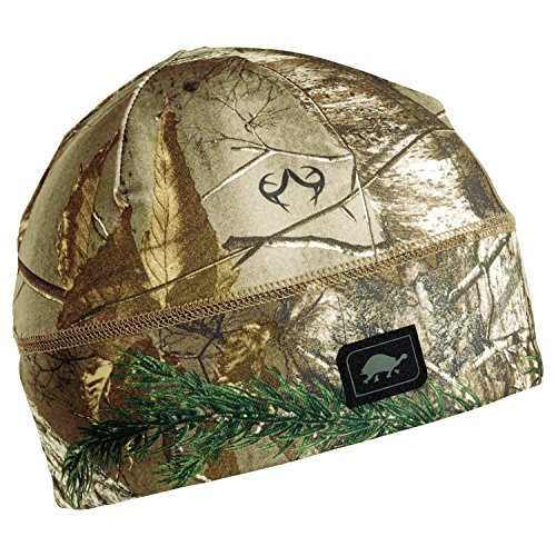 Turtle Fur Hunting Comfort Shell Brain Shroud Lightweight Camo Skull Cap Liner/Beanie, Realtree Xtra (Turtle Fur Lightweight Hat)