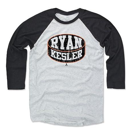 a15d8e0740a Amazon.com   500 LEVEL Ryan Kesler Shirt - Anaheim Hockey Raglan Tee ...