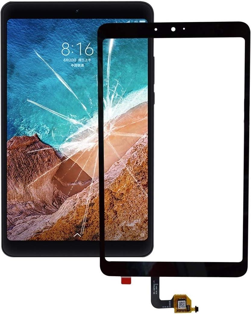 XHC reemplazo de la reparación Panel táctil for For Xiaomi Mi Pad 4 teléfono Inteligente (Color : Black)