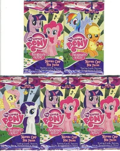 MY LITTLE PONY FRIENDSHIP IS MAGIC Series 1 Complete STANDEES Card Set 9