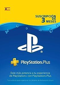 PlayStation Plus Suscripción 3 Meses   Código de descarga PSN - Cuenta española