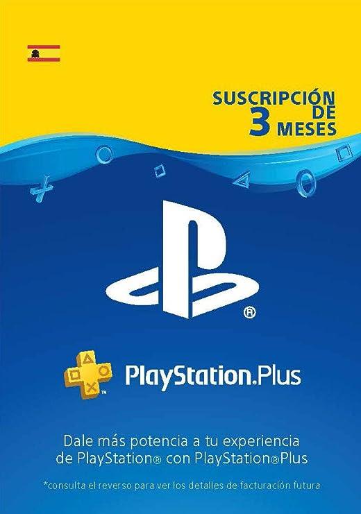 PlayStation Plus Suscripción 12 Meses | Código de descarga PSN - Cuenta española: Amazon.es: Videojuegos