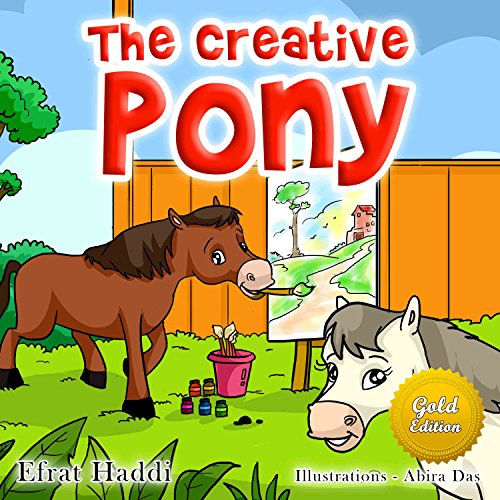 childrens-books-the-creative-pony-gold-edition-bedtime-story-book-for-kids-gold-edition-picture-book