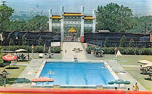 Swimming Pool Grand Hotel Taipei Taiwan China Postcard