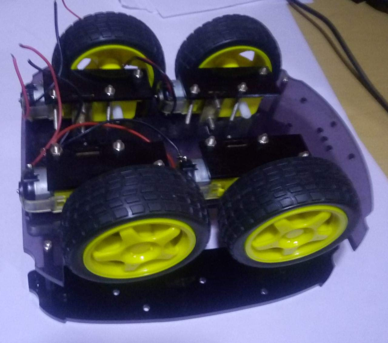 Buy Smart Robot Car Chassis Kit, 4 Wheels, 2 Layers with