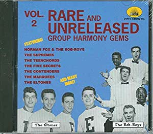 Rare and Unreleased Group Harmony Gems Vol. 2
