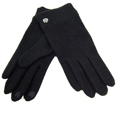 Esprit Felted Gloves Negro 114ea1r041 - 001 Guantes Guantes de ...