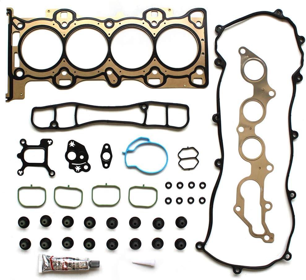 ROADFAR Head Gasket Bolts Set Kit for Ford Escape Ranger Mazda B2300 Mercury Mariner 2.3L VIN D H Z MZR 01 02 03 04 05 06 07 08 09