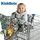Shopping Cart Covers for Baby and High Chair Cover Includes Carry Bag, Machine Washable Best Gift from Kiddlets