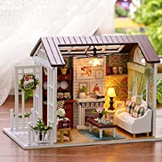 Welcome to Flever's world of dollhouses,in which is full of imagination and fun!l Package Content : 1) 1 DIY house  2) All furniture and things shown in the pictures.(need to DIY)  3) LED lights 4) Color Manuall Notes :1.The instruction is in Chinese...