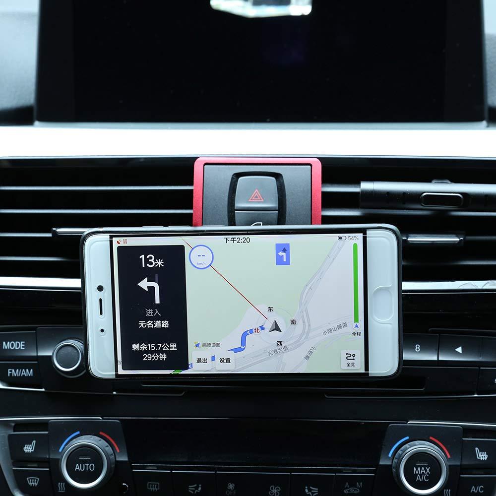 Light Blue DIYUCAR Mobile Phone Holder For Car Air Vent For F22 F23 F30 F31 F34 F32 F33 F34 F35 F36 F80 F82 M4 2013-2019 With M LOGO