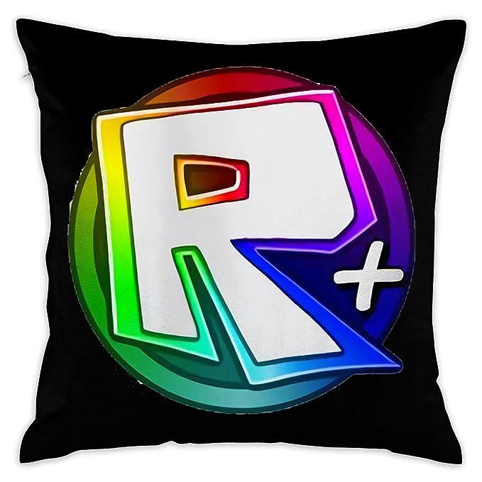 666PC Roblox Circle Logo Decorative Throw Pillow Covers Case Pillowcases Fundas para Almohada