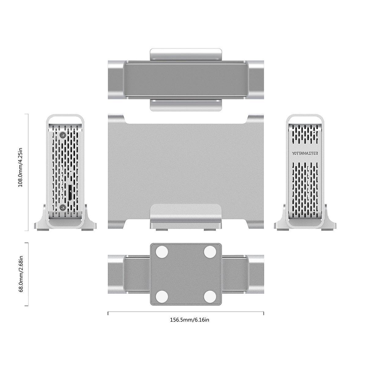 Amazon.com: yottamaster Type-C Hard Drive Enclosure de 2,5 ...
