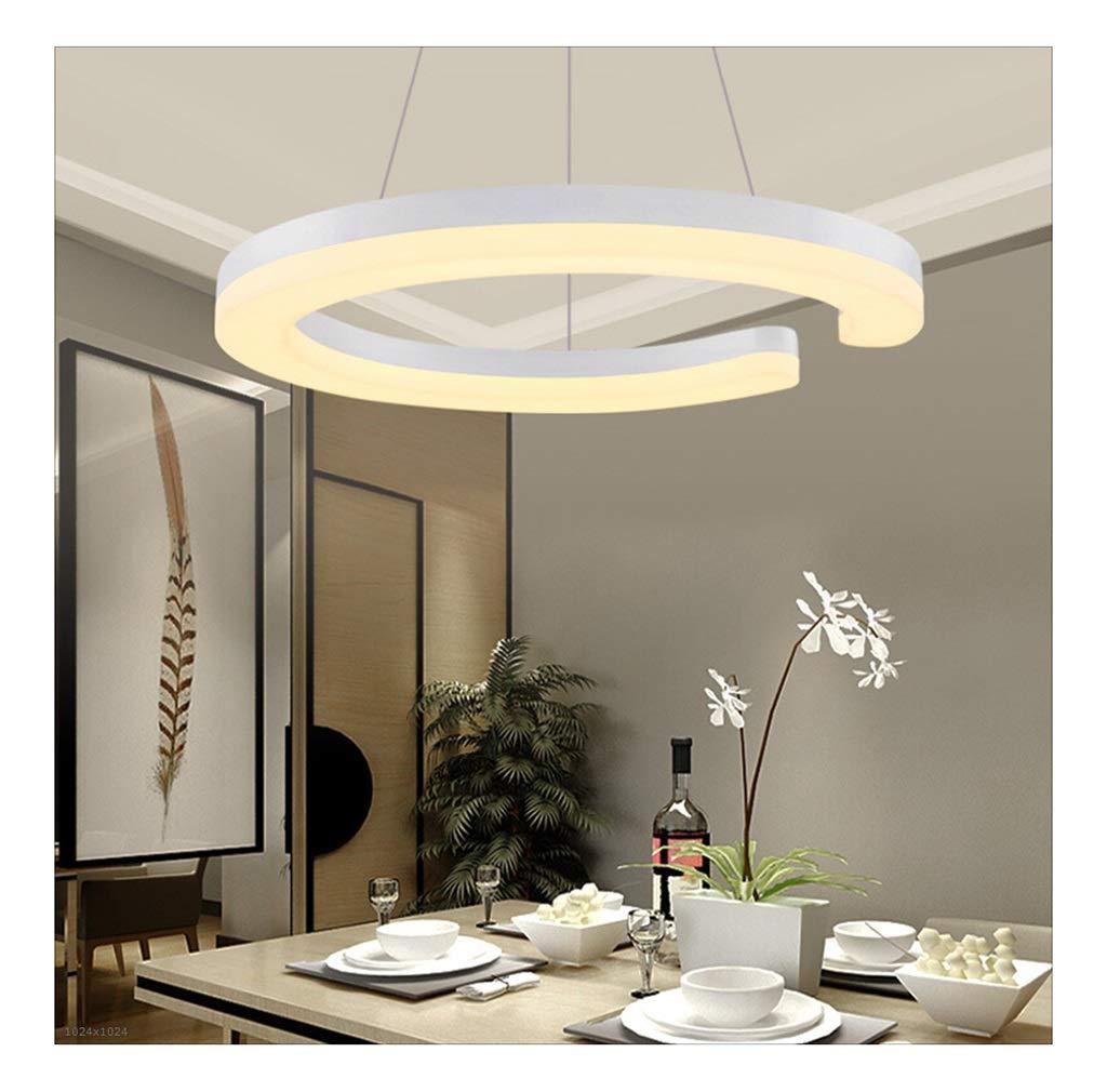 QPSGB - ペンダントライト ロマンチックな現代のペンダントライトLedベッドルームランプを吊るすレストランシンプルなファッションパーソナリティクリエイティブバーテーブルシャンデリアLED [エネルギークラスA + +] B07T9LF8QL
