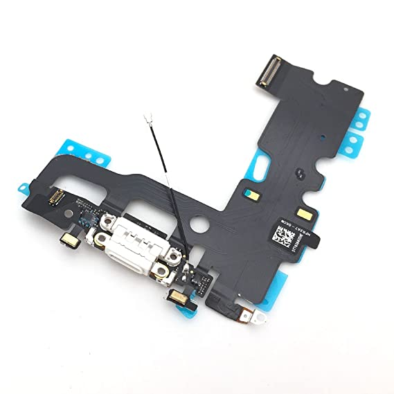 buy popular 8b8e8 f2c36 E-repair Charging Port Headphone Jack Flex Cable Replacement for Iphone 7  Plus (5.5 inch) (White)
