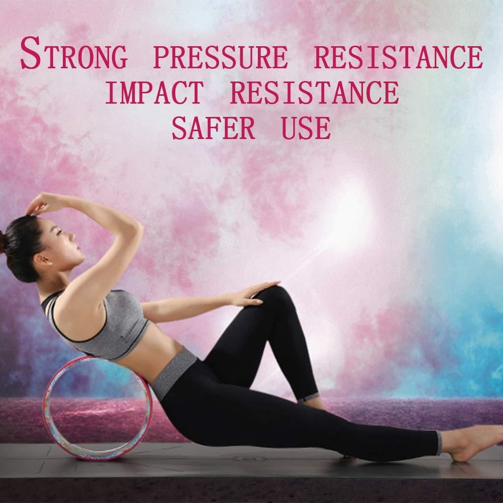 Amazon.com: Rueda de yoga con forma de círculo para fitness ...