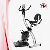 YM vélo d'appartement ciclette X-Bike Cardio Fitness Salvaspazio Pliable Porte PC