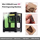 Laser Engraver Printer, 1500mW DIY USB Mini
