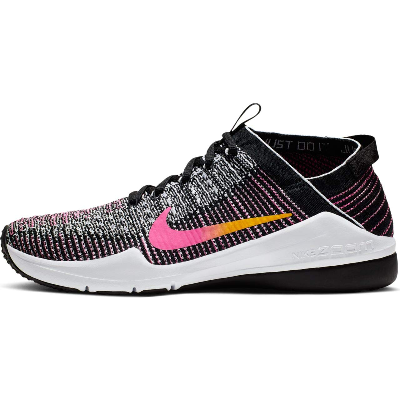 MultiCouleure (noir University or Laser Fuchsia 000) 43 EU Nike W Air Zoom Fearless FK 2, Chaussures de Fitness Femme
