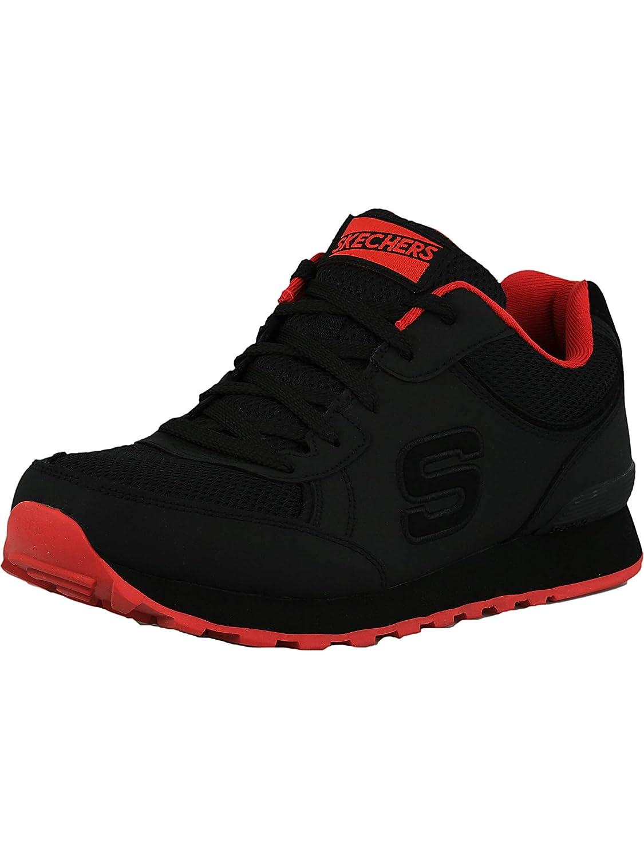 Skechers Men's OG 85 Sirles Turnschuhe,schwarz rot,US 12 M