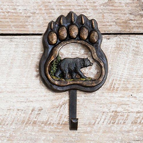 - Black Forest Decor Bear Paw Wilderness Hook