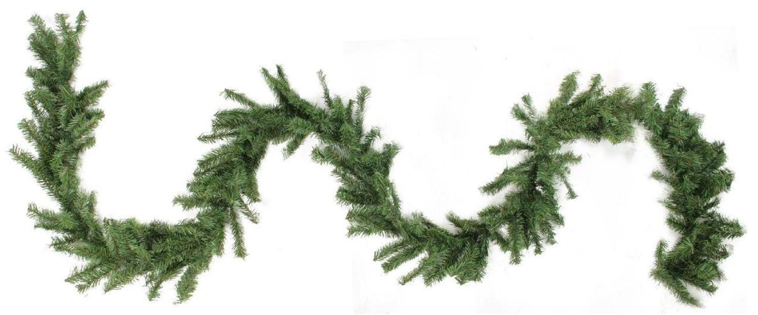 Northlight 100' x 8'' Commercial Length Canadian Pine Artificial Christmas Garland - Unlit
