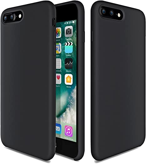 Fuleadture iPhone 8/7 Plus Custodia Caso Silicone Ultra Sottile