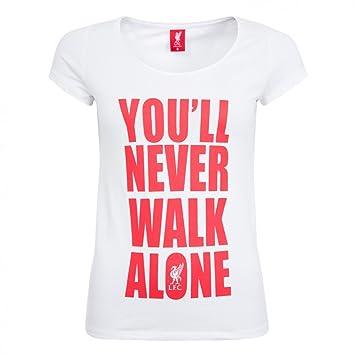 a3b34a04a Liverpool FC You ll Never Walk Alone Women s T-Shirt