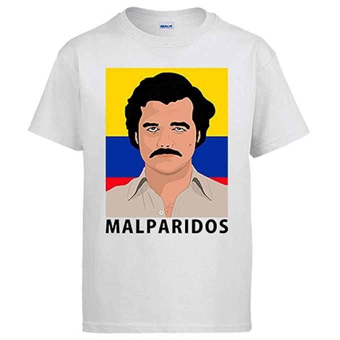 Diver Camisetas Camiseta Narcos Pablo Escobar malparidos  Amazon.es  Ropa y  accesorios 9670795902ee3