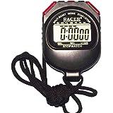 Texla Scientific Instruments Plastic Red Digital Stopwatch