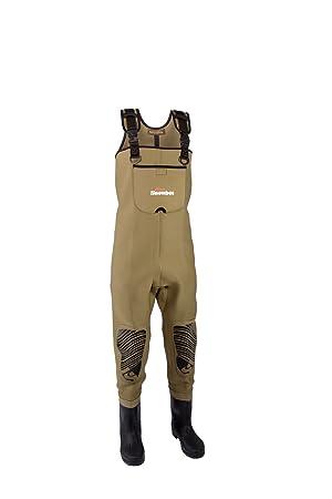 Snowbee classique en néoprène pour homme Semelle à crampons avec bottes Taille unique Olive clair 7CT1qGY5