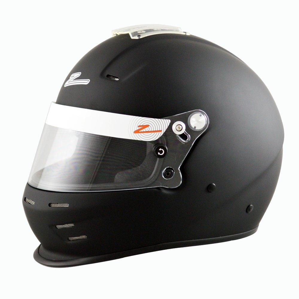 X-Large RZ-35E Snell SA2015 / FIA 8859-2015 Matte Black Helmet by Zamp