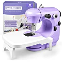 Sewing Machine, Portable Sewing Machine for Beginners with Light and Extension Table, Easy to Use & Safe for Kids, Best…