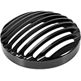 AllExtreme EXHBGS1 Metal Cast Iron Front Headlight Grill Cover Compatible for Old Model Bajaj Avenger 150/180/200/220cc (Black)